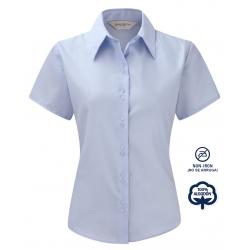 Camisa Mujer Sin Plancha Manga Corta 100% Algodón