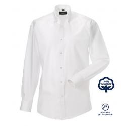 Camisa Hombre Sin Plancha Manga Larga 100% Algodón THE NON IRON COMPANY ¡No se arruga!