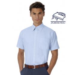 Camisa Easy Care Hombre Manga Corta Modelo TNICo. Oxford