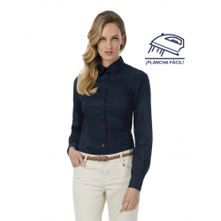 Camisa Easy Care Mujer Manga Corta Modelo TNICo. Sharp