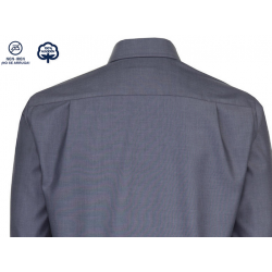 Camisa Hombre Sin Plancha Manga Larga 100% Algodón Cuello Kent ¡No se arruga! SEIDENSTICKER