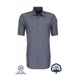 Camisa Hombre Sin Plancha Manga Corta 100% Algodón Cuello Kent Splendesto  ¡No se arruga! SEIDENSTICKER
