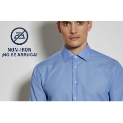 Camisa Hombre Sin Plancha Manga Larga TAILORED 100% Algodón Cuello Kent   ¡No se arruga! SEIDENSTICKER