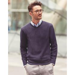 Jersey Cuello V de Punto Pico Sweater Easy Care Cottonblend Fácil Cuidado